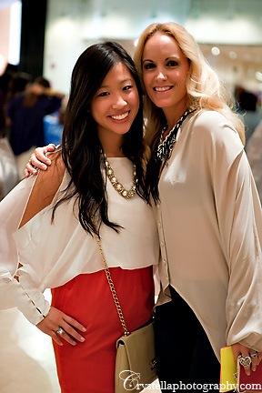 Cindy and Dara Bu