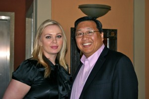 Indira Spa Director & Dr. James Chao MD