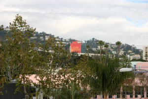 Gorgeous view of Hollywood Hills