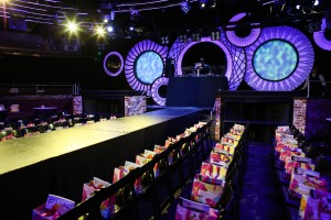 Runway for the Fashion Show