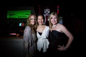 Cindy with Alison & Rachel of The Junior League