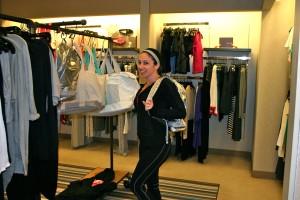 Jennifer Butler shopping