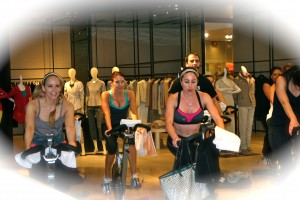 Spin provided by The Rush Indoor Cycling