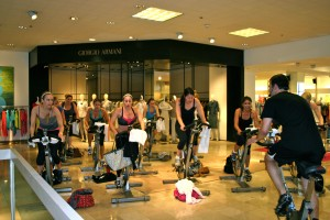 Spinning at Neiman's