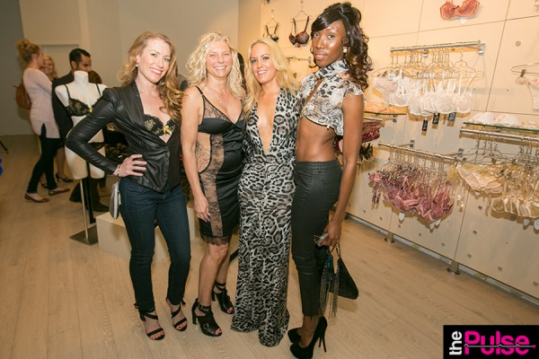Nikki & I with the models