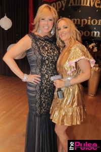 With the gorgeous Mary Murphy