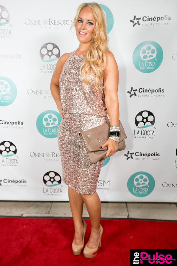La Costa Film Festival in dress by Badgley Mischka