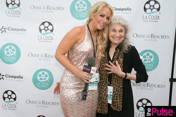 With Lynn Cohen