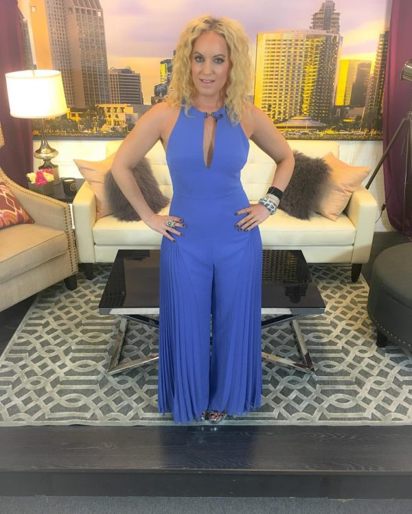 Jumpsuit by Halston Heritage