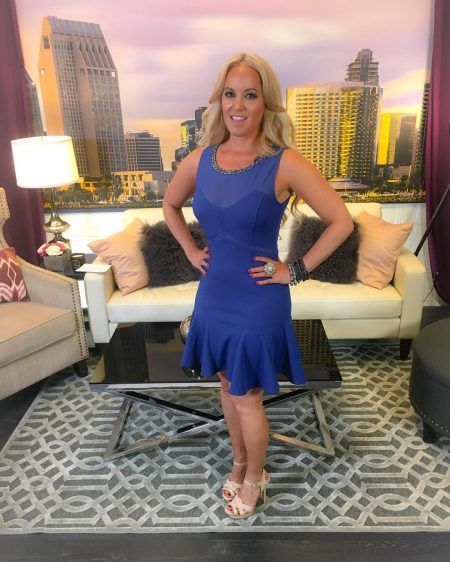 Dress by Wysh Boutique on set