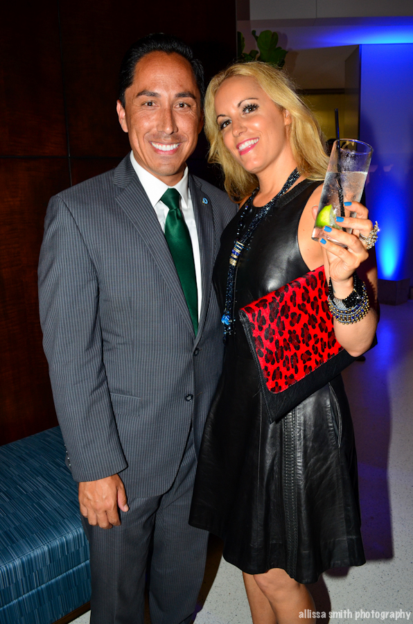 With Todd Gloria at 1 Columbia Place Opening