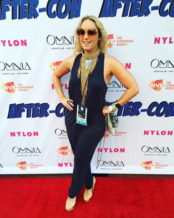 Red Carpet Nyon & Experience Agency Party Comic Con in Wysh Boutique