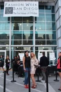 Fashion Week Beauty Event in Badgley Mischka YSL Pumps