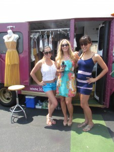 Fashion Truck event in Therapie Boutique
