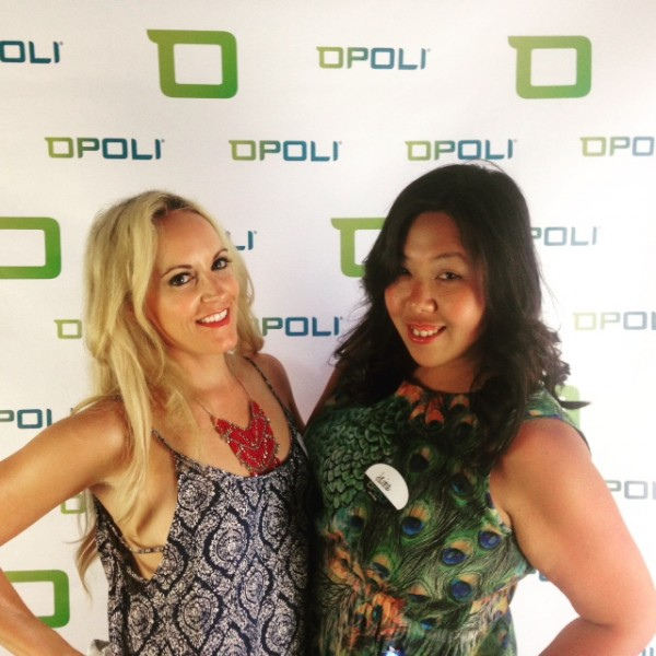 Opoli VIP launch in dress & necklace Wysh Boutique