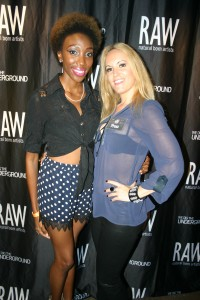Raw Artists Event in Patterson & Kincaid Blouse Leather J Brand Jeans