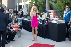 Hosting Strut for Classychickclothing online in Herve Leger South Coast Plaza Brian Atwood Pumps