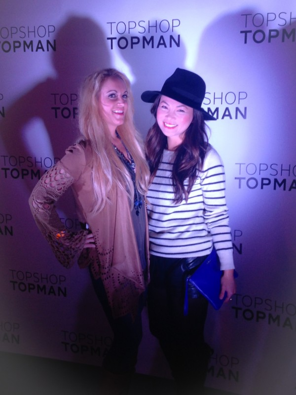TopShop/TopMan VIP Event in Sky jacket from Tre Boutique