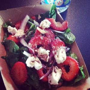 Strawberry Seduction Salad