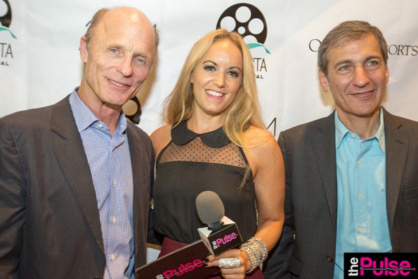 With Ed Harris & Mike Tollin