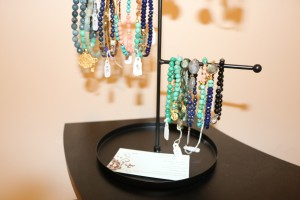 Some of her jewelry she sells