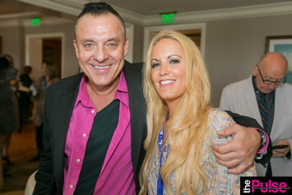 With Tom Sizemore