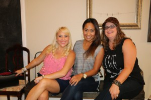 Deanna, Dolores, and Mandy