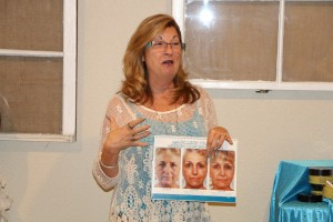 Sandi talks skin care