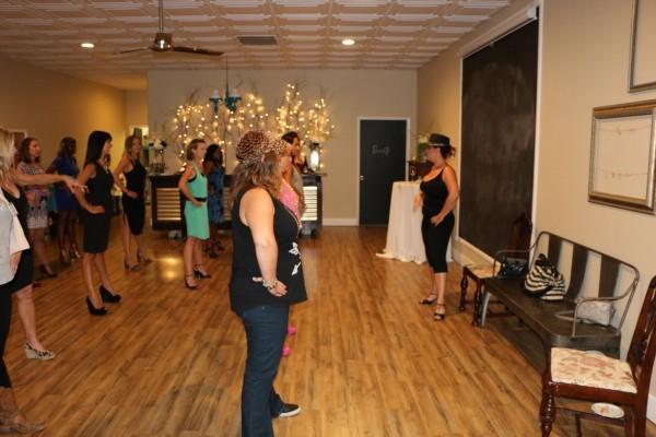 Nikki instructs the ladies