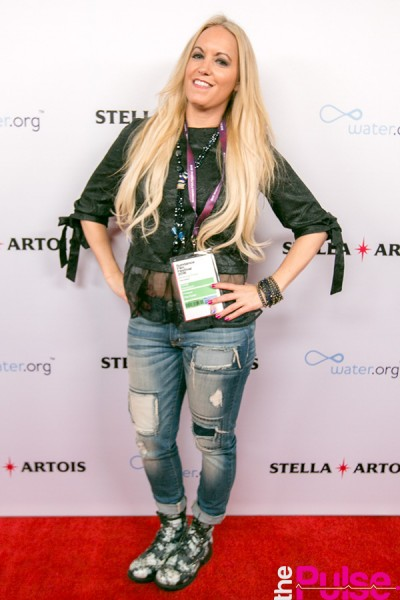 Matt Damon Stella Artois event at Sundance in a look by Wysh Boutique