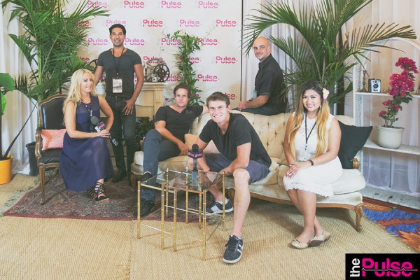 The Pulse Team in the Media Lounge