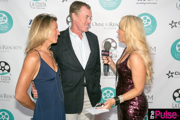 John C. McGinley & his wife