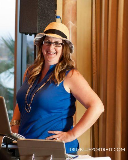 Business Photography by Stefanie Blue TRUE BLUE Portrait