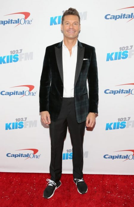 LOS ANGELES, CA - DECEMBER 02:  Tv personality Ryan Seacrest attends 102.7 KIIS FM's Jingle Ball 2016 presented by Capital One at Staples Center on December 2, 2016 in Los Angeles, California.  (Photo by Rachel Murray/Getty Images for iHeartMedia)